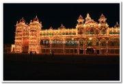 Mysore palace lightings