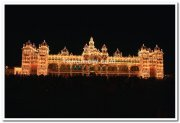 Mysore palace long view