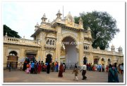 Mysore palace main entrance
