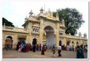 Mysore palace main entrance