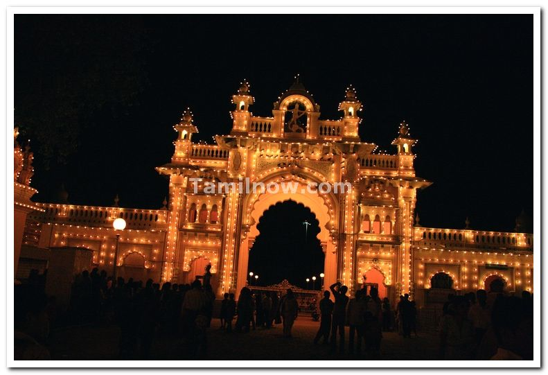 Mysore palace main gate