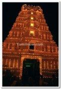 Temple inside palace premises