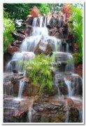 Waterfalls at mysore palace gate