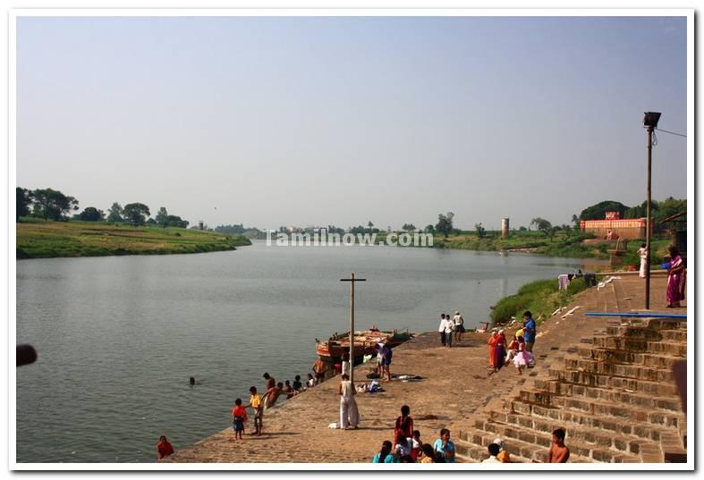 Krishna river meets panchaganga
