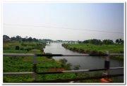 Sangam of rivers krishna and panchaganga