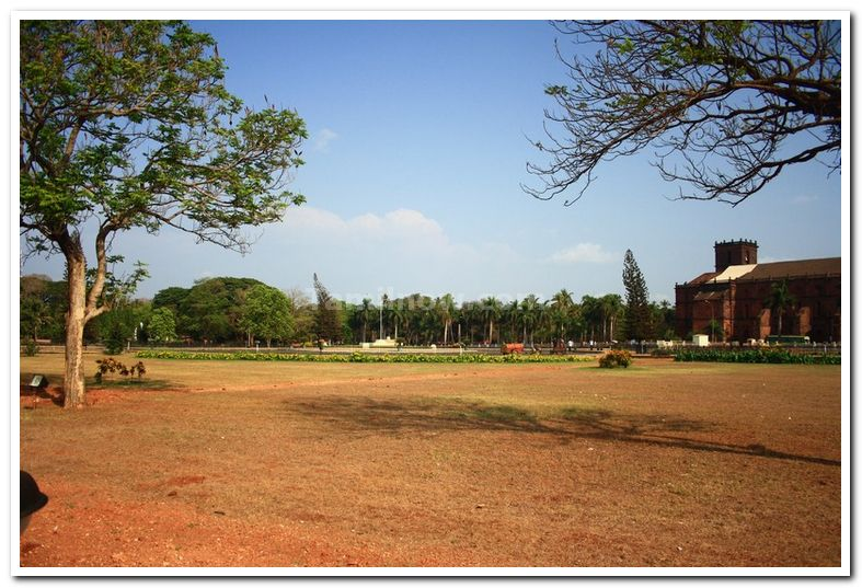 Basilica of Bom Jesus Compound