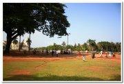 Church compound old goa
