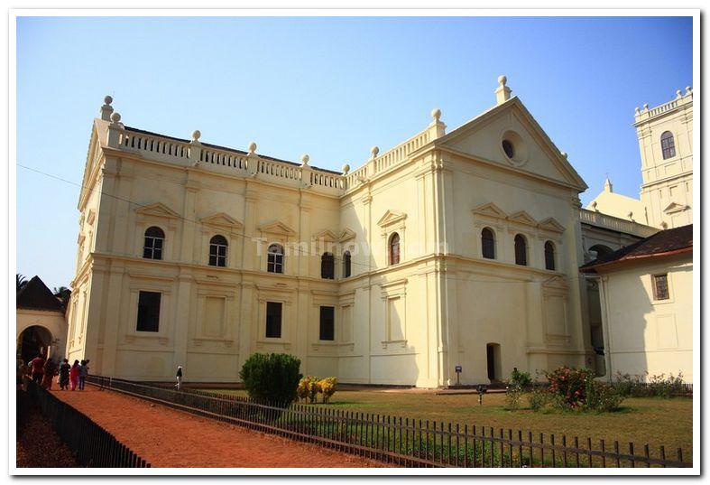 Kristu Kala Mandir Art Gallery at Old Goa