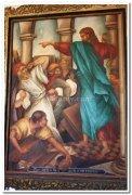 Paintings basilica of bom jesus old goa 2