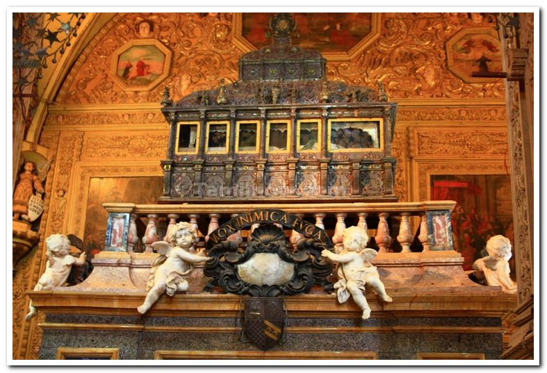Relics of body of St. Francis Xavier