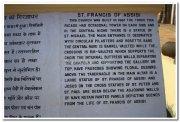 St francis of assissi description