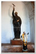 Statues of apostle
