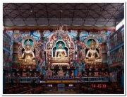Idols inside temple