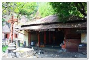 Entrance to ramlinga temple near kolhapur