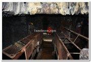 Ganpati idol inside the caves