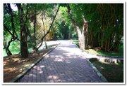 Walkway inside sanctuary