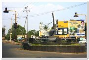 Traffic juction in sangli