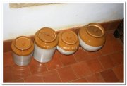 Clay pots kerala section