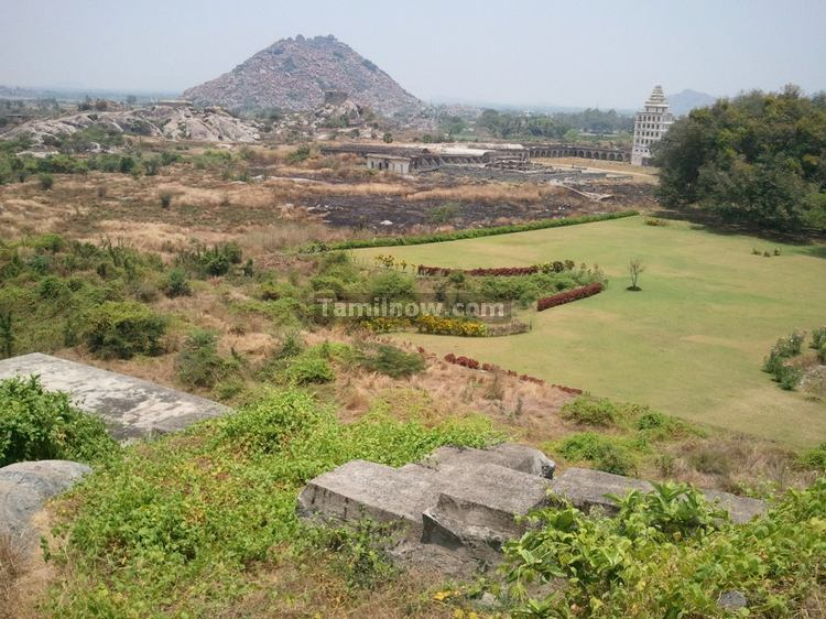 Parts of Gingee Fort in Tamilnadu