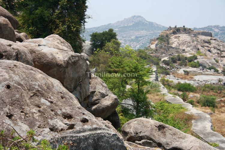 Rocks at the Gingee Fort