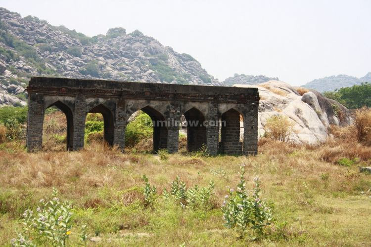 Gingee Fort Ruined Structures Photo