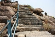 Gingee fort steps