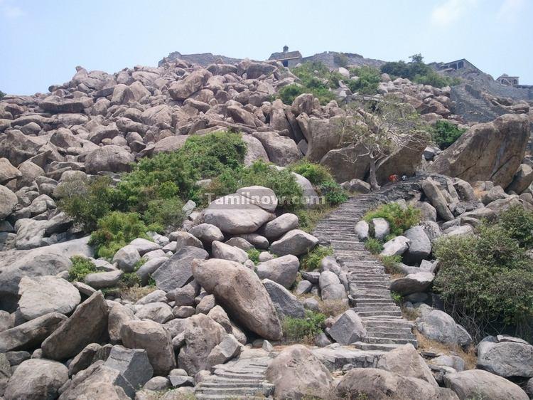 Senji Fort Rock Ruins