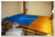 Saree weaving at kanchipuram