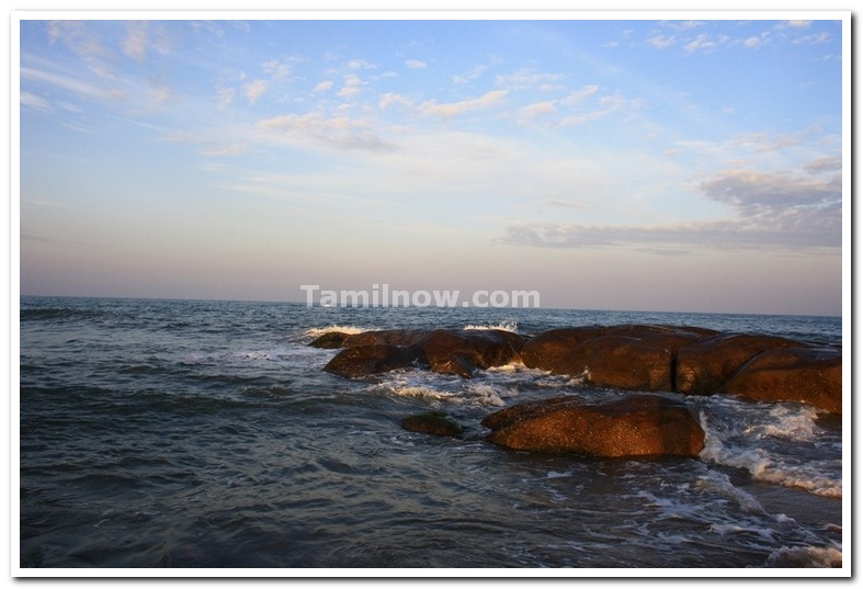 Covelong beach near chennai 1