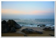 Kovalam beach view 3