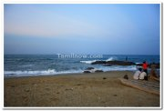 Kovalam beach view 4