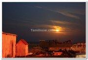 Moon rising at kovalam beach 2