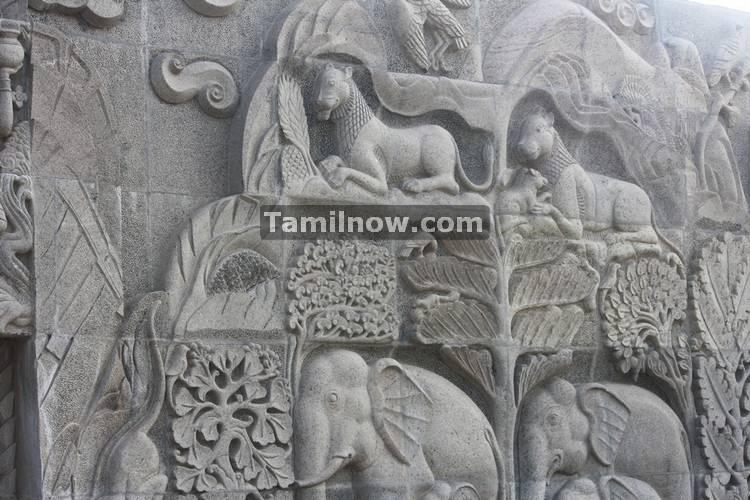 Stone works rajiv gandhi memorial sriperumbudur 2