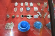Crystal wares on display at thanjavur palace museum 877