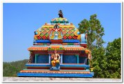 Temple at pagoda point yercaud 1