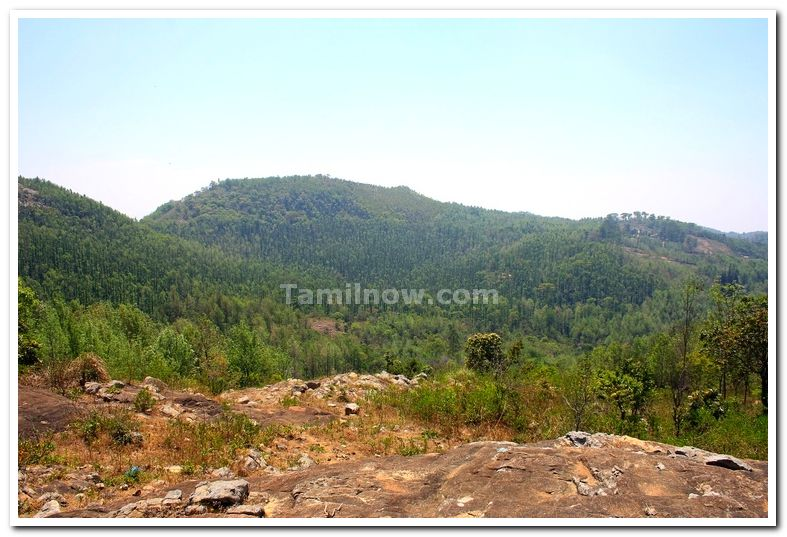 View from annamalai temple yercaud 6