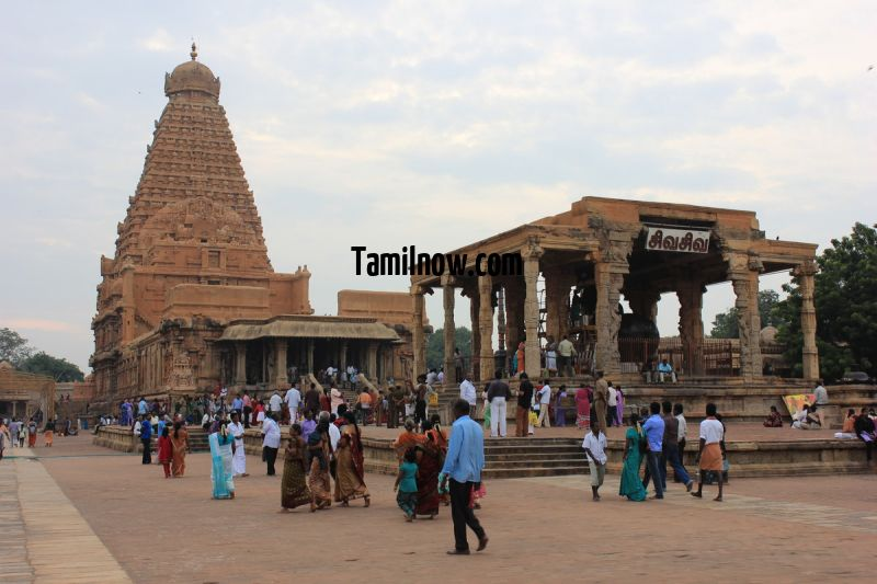 Thanjavur big temple a complete view 756