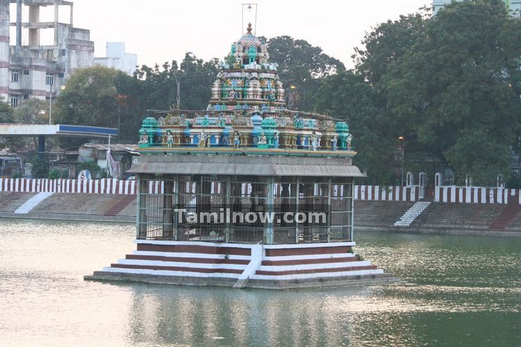 Mylapore temple tank photo 4