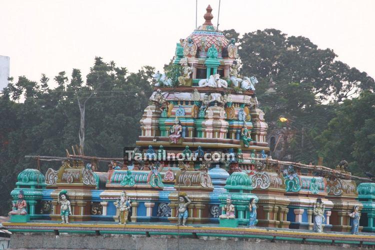 Mylapore temple tank photo 5