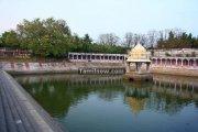 Ekambareswarar temple kanchipuram tank 1