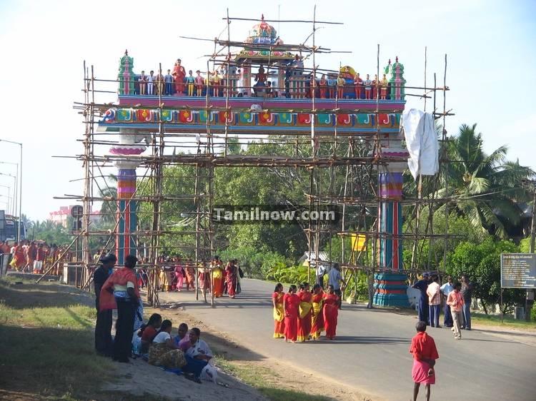 Melmaruvathur aadhi parasakthi temple photo 9