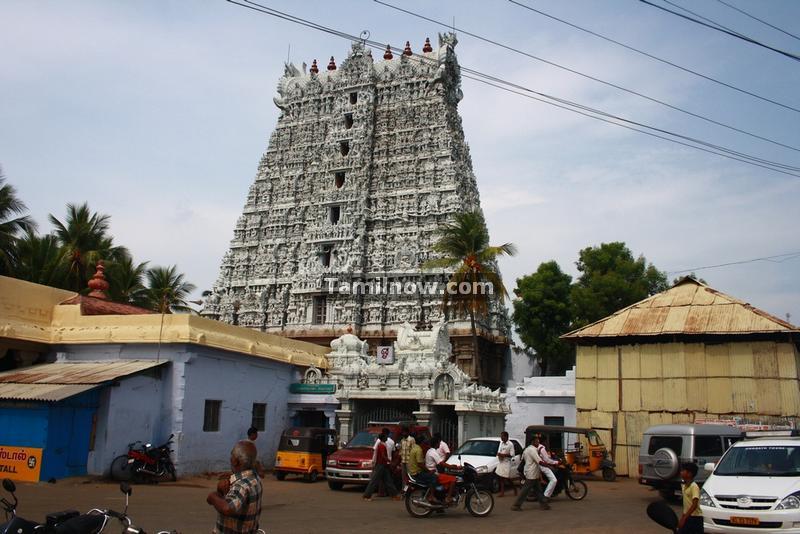 Suchindram temple gopuram photos 3