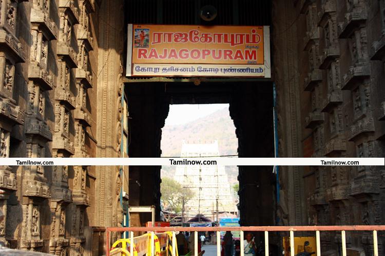 Thiruvannamalai temple rajagopuram 6