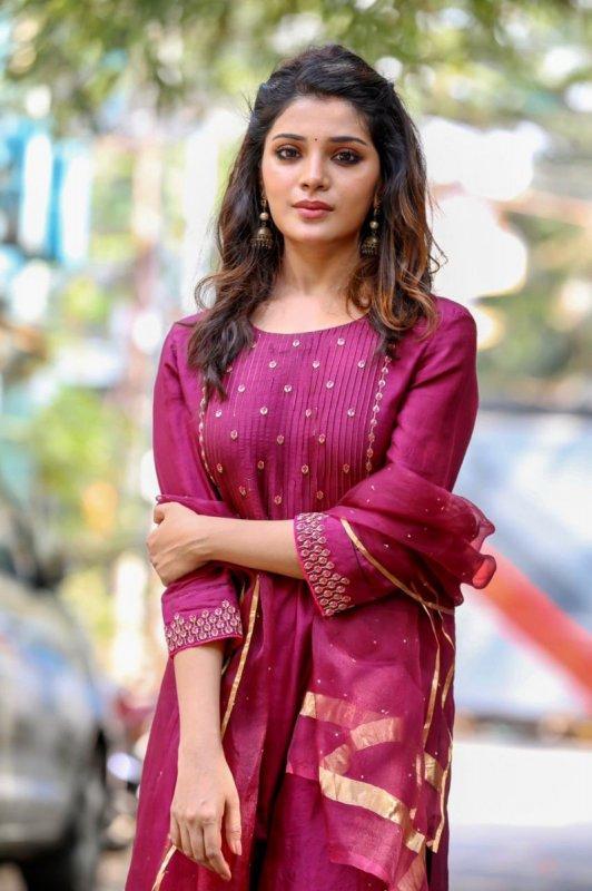 Indian Actress Aathmika Latest Photo 8952