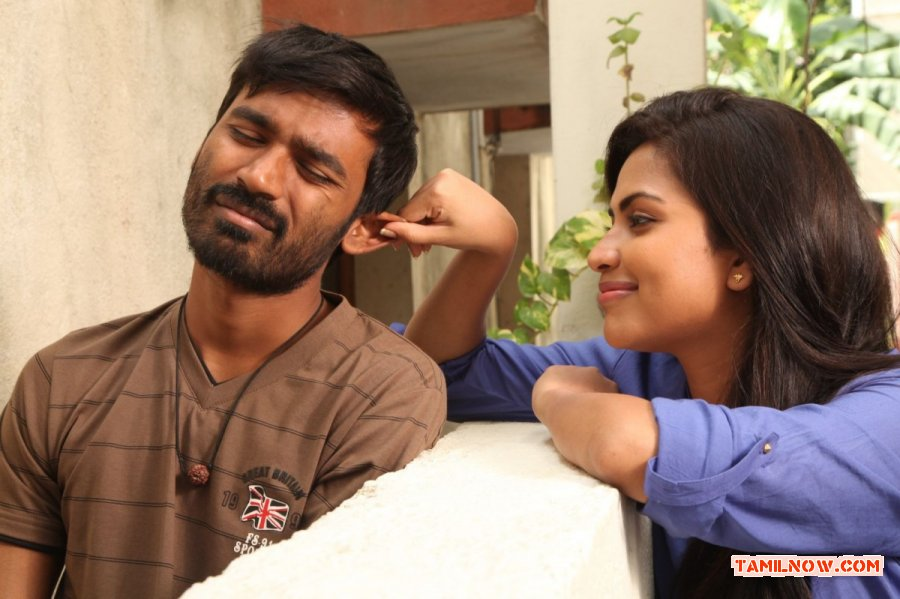 Amala Paul With Dhanush 929