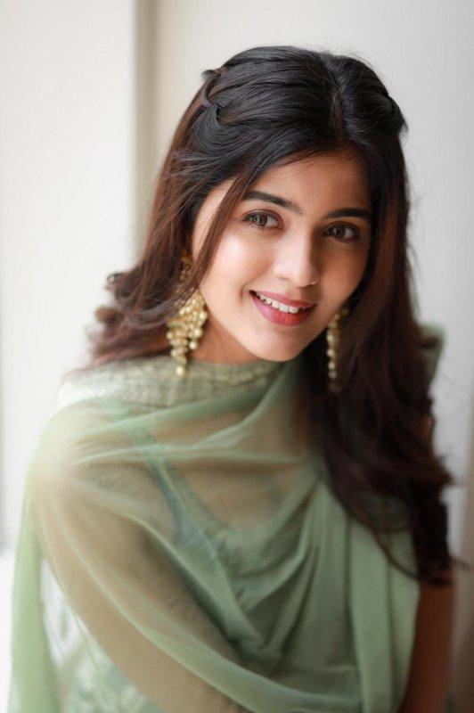 Indian Actress Amritha Aiyer Latest Image 8565