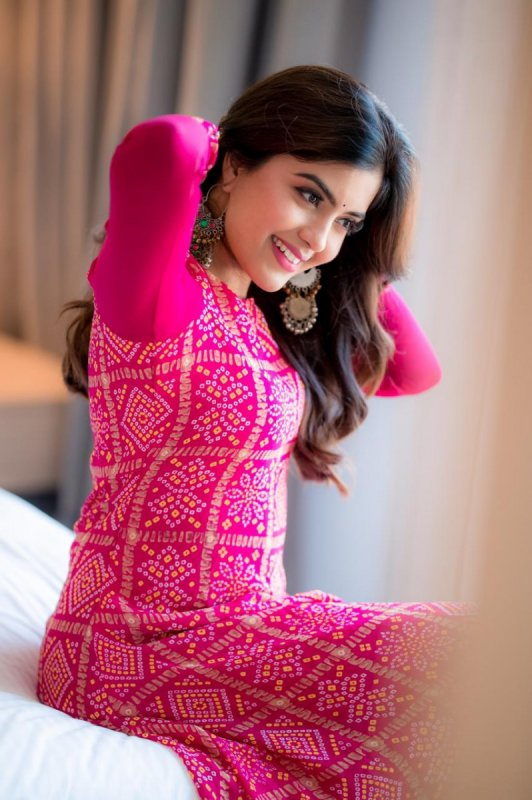 New Stills Amritha Aiyer Indian Actress 5777