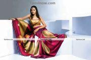 Actress Bhavana In Saree 7