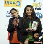 Bhavana And Genelia At Ccl 4 2