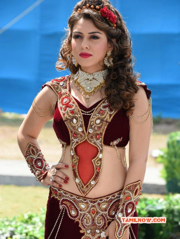 Actress Photo Hansika Motwani Latest Still From Puli 434